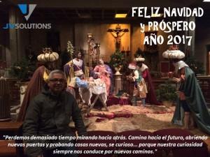 Desde JVSolutions te deseamos una Feliz Navidad y Próspero Año 2017