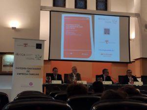 Presentación del libro sobre la empresa familiar en la provincia de Cádiz. UCA